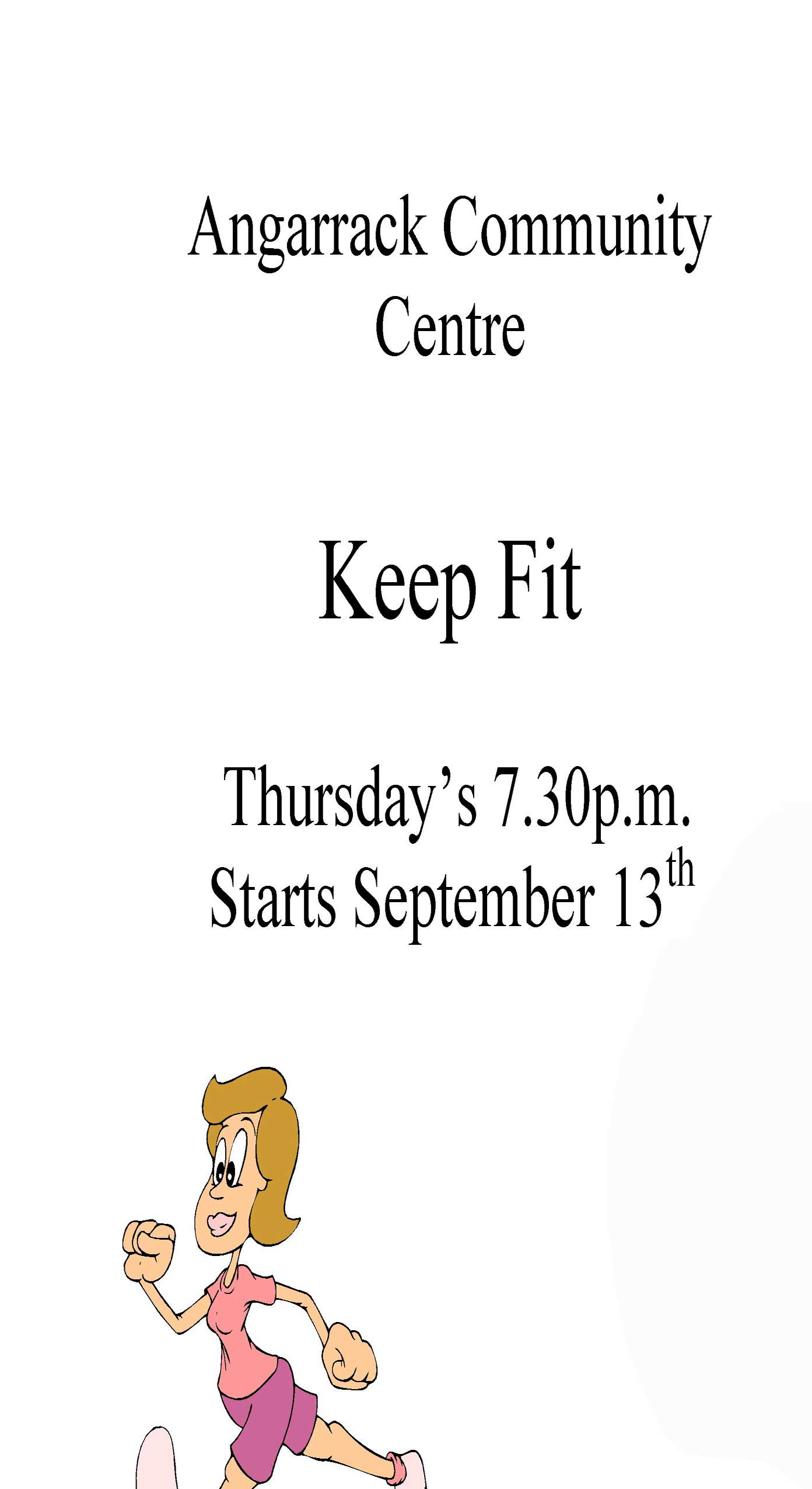 Keep Fit | Angarrack Community Centre